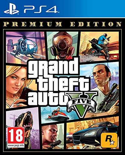 PS4 Grand Theft Auto V Premium Online Edition [