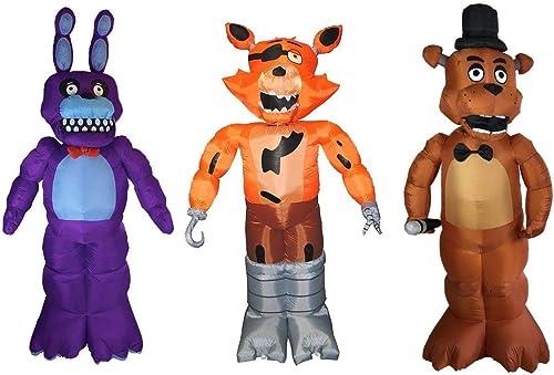 envío gratuito a nivel mundial FIVE FIVE FIVE NIGHTS AT FrojoDY'S Inflatable Halloween Decor Set  Bonnie, Foxy, Frojody  Garantía 100% de ajuste