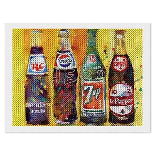 RC Cola, Pepsi Cola, 7up Dr Pepper ,5D Kit de pintura de...