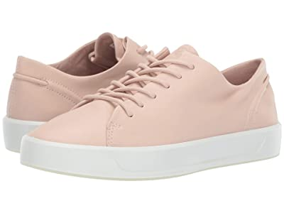 ECCO Soft 8 Leisure Tie (Rose Dust Cow Leather) Women