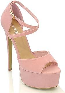 Amazon.it: Sandali Donna Tacco 15 13 cm e più Scarpe da
