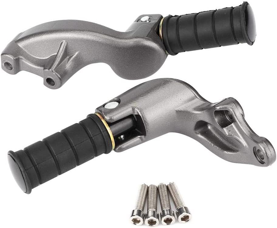 Max 72% OFF KIMISS Motorcycle Footrests 70% OFF Outlet Foot Aluminum Pegs Alloy