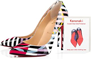 Kanonaki Sole Sticker - Crystal Clear Sole Protector for Heels Removable Sole Protectors