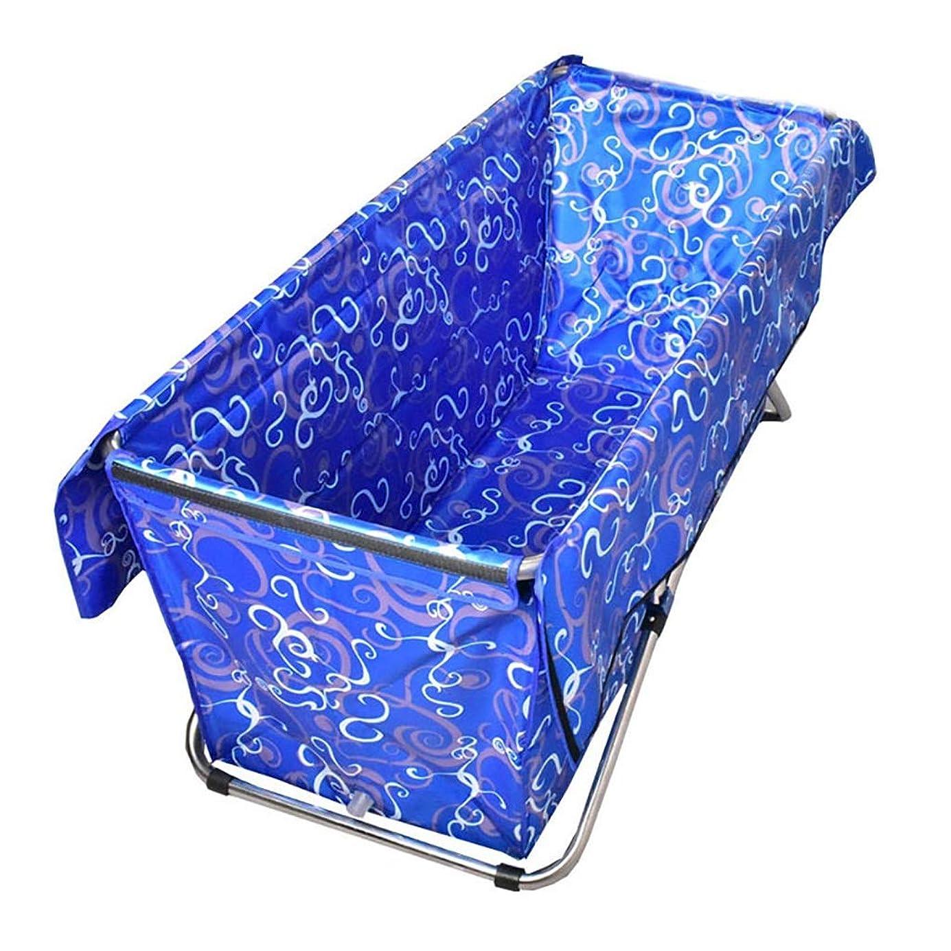 チャンバーなに調整可能折り畳み式バスタブ浴槽 暖かい断熱折りたたみ浴槽お風呂入浴家庭児童バレルませインフレポータブルプラスチックスパマッサージバスタブ大人バスタブベビープール、5色をしてください (Color : Purple)