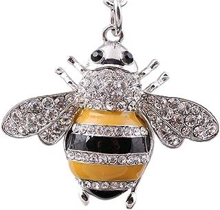 1 Pcs Bee Shape Keychain Beauty Shape Design Hanging Ornament Keyring Keychain Purse Bag Pendant Key Decoration High Quality