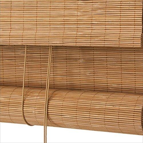WUFENG Bambus Rollo Wasserfest Sonnencreme Teehaus Hintergrund Halbschattierung Schlafzimmer 6 Farben 12 Größen Kann Angepasst Werden Türvorhang (Farbe : D, größe : 80x180cm)