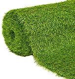 JARDINLIFE Rollo 2x10m Altura 40mm césped artificial premium | TOKIO 21.000 puntadas | Máximo realismo, alta densidad, ideal para exteriores, piscinas, terrazas, jardín, mascotas, e interiores