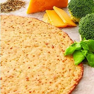 Edgy Veggie Seasoned Broccoli Gluten Free Thin Pizza Crust, Non GMO, 10