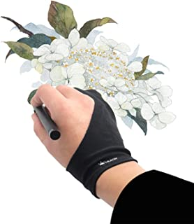 Huion Anti-fouling Artist Glove for Graphics Pen Drawing Tablet Monitor Light Box Tracing Board 1 Unit Free Size
