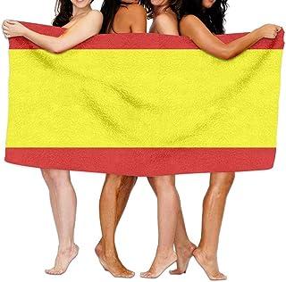 Toallas de Playa con Bandera española Unisex Toallas de baño para niñas Adolescentes Toalla de Viaje: Amazon.es: Hogar