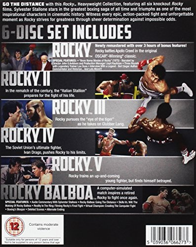 Rocky: The Heavyweight Collection [Blu-ray] [2014]