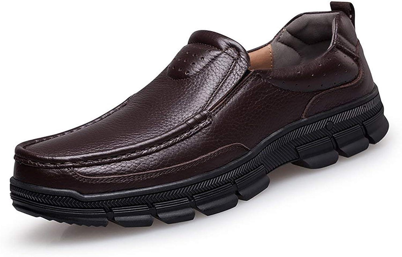 ZHRUI Beiläufige Gummisohlen-Arbeits-braun-Penny-Müßiggänger-gehende Schuhe Großbritannien 9 (Farbe   -, Größe   -)  | Outlet Store Online