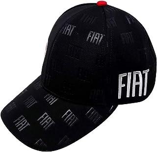 Fiat 21239 Kappe mit gebogenem Visier, schwarz