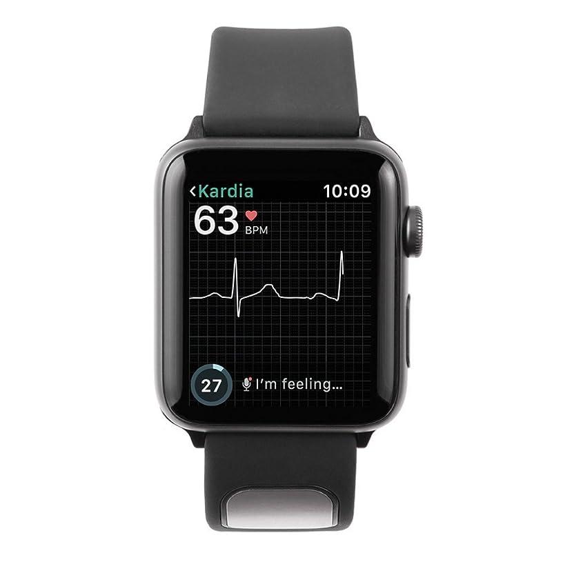 クライストチャーチモデレータ統治するAlivecor KardiaBand for Apple Watch | Wearable Wristband 30-second EKG | Works with Apple Watch to Evaluate EKG | Helps Detect Afib Anytime, Anywhere (並行輸入品)