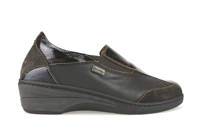 [WALKSAN by SUSIMODA] 古典的な女性の靴 レディース レザー ブラウン