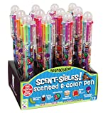 Raymond Geddes Scent-Sibles 6-Color Pens with Scented Ink (Pack of 12)