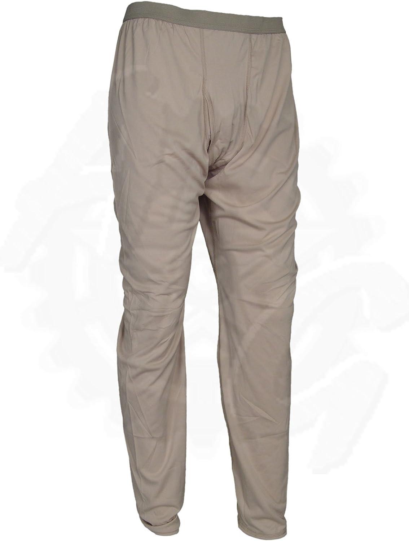 Polartec Silkweight Desert Tan Bottoms Base Layer Long Underwear Drawers, Made in USA