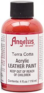 Angelus Leather Paint 4 Oz Terra Cotta Red
