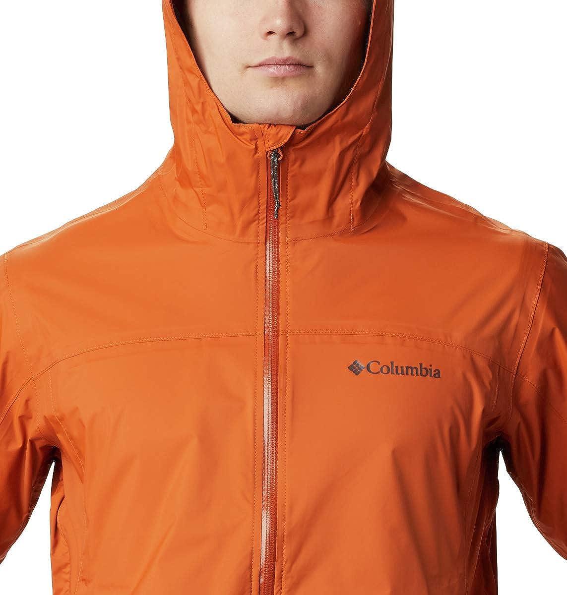 Columbia Mens EvaPURation Waterproof Rain Jacket