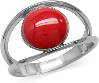Best red coral ring Reviews