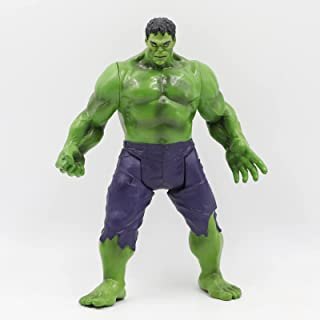 Superhero Action Figures of PVC 9-Inch Toy Bend and Flexible Figure Collectible Model Gift (Green)