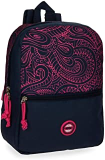 Movom Paisley Sac à dos Multicolore 25x32x12 cms Polyester
