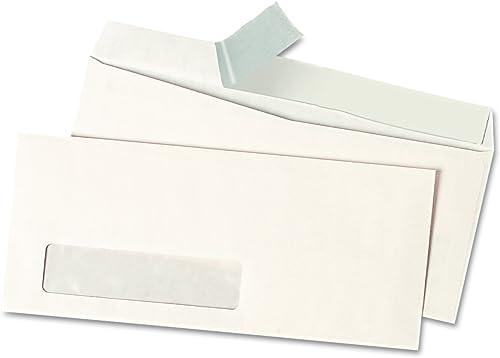 Pull & Seal Business Envelope,  10, Window, Weiß, 500 Box