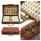 Puzzle Mahjong Partido Encuentro Juego Chino Tradicional Juego de Marfil 23mm ML (Mahjongg, Mah-Jong, Mah Jong Conjunto, Majiang) Bloques