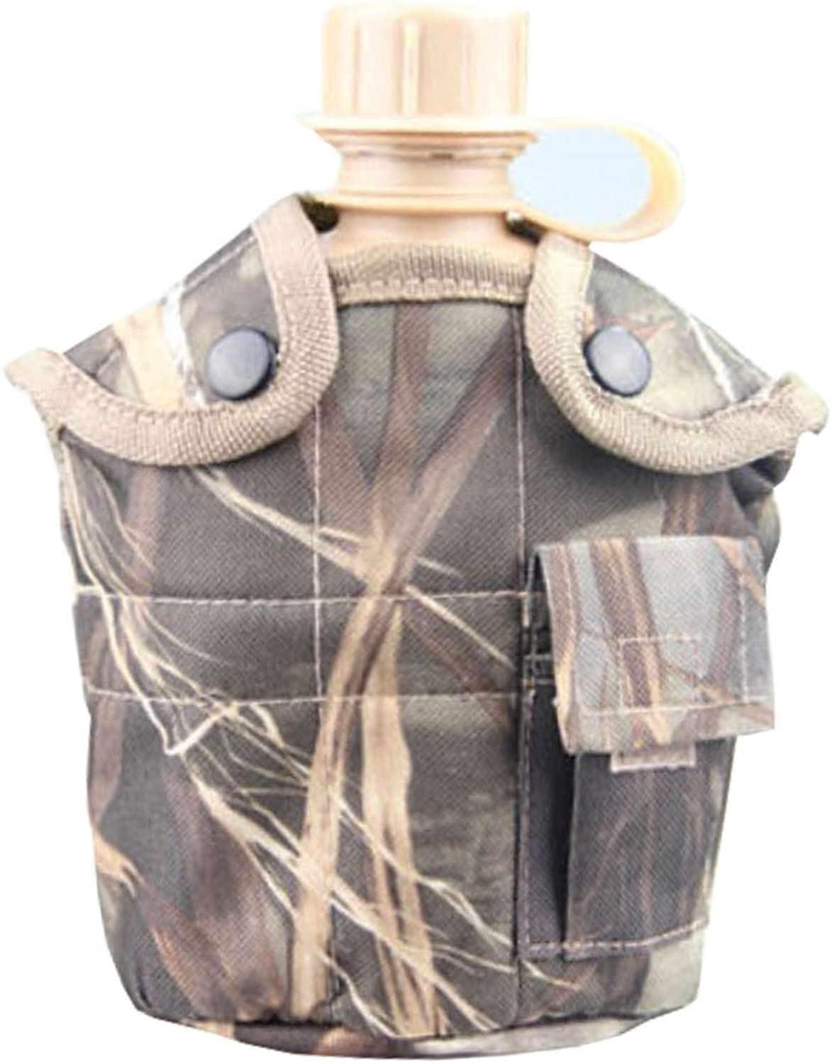 Camo Series Army Style Canteen Outdoor Hunting Camping Canteen NO.4