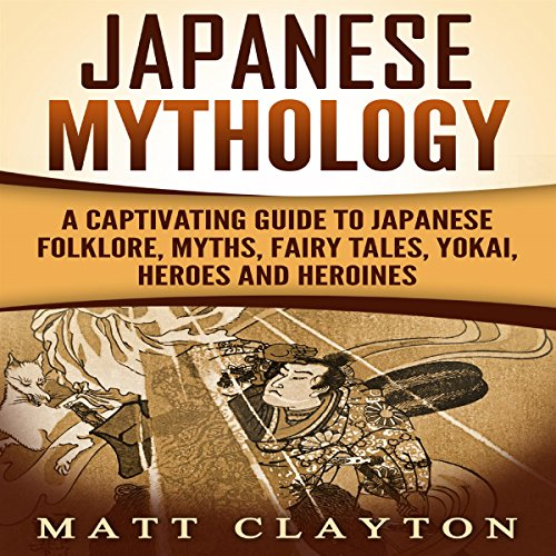 Japanese Mythology audiobook cover art
