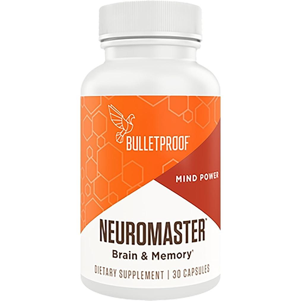 投資する洪水不透明なBulletproof NeuroMaster 30 Capsules