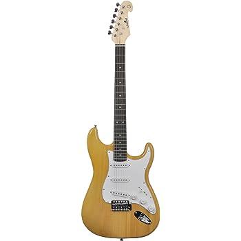 acorde CAL63-AM guitarra eléctrica - Ámbar: Amazon.es: Instrumentos musicales