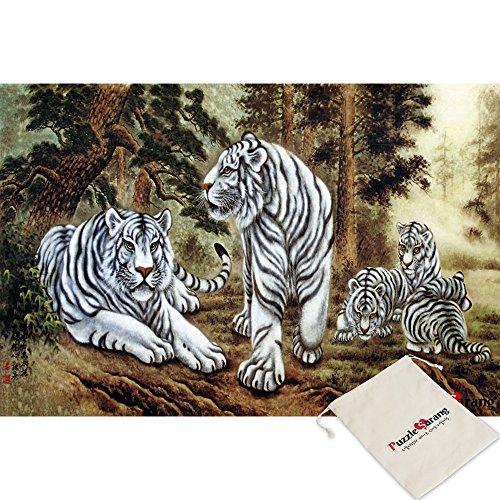 Puzzles Tiger En Blanco
