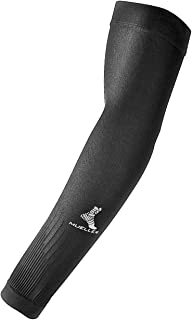 Mueller Graduated Compression Performance Arm Sleeves, Black, Extra Large, 2 count