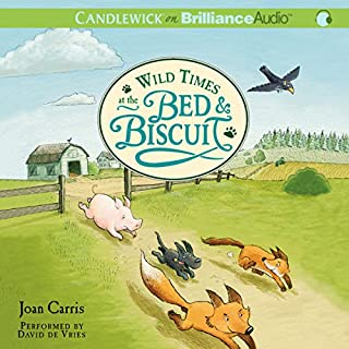 Wild Times at the Bed & Biscuit audiobook cover art