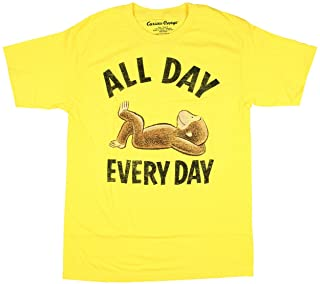 Curious George Day Every Day Licensed Graphic T-Shirt