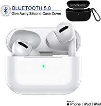 Bluetooth 5.0 Headphones Wireless Earbuds in-Ear Noise Cancelling Bluetooth Ear Buds 3D Stereo IPX5 Waterproof Headset with Fast Charging Case for Apple Airpods pro iPhone Android Sport Earphones