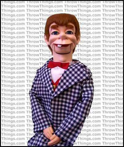 ThrowThings.com Mortimer Snerd Super Deluxe Upgrade Ventriloquist...