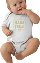 Mama-Tried Baby Pajamas, Bodysuits Clothes Onesies Jumpsuits Outfits Black