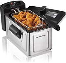 New-2 Liter Deep Fryer Stainless Steel Electric Basket Cooker Kitchen Countertop