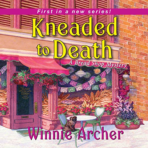 Kneaded to Death audiobook cover art