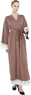 Nukhbaa Women's Abaya, Brown