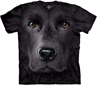 Men's Black Lab Face T-Shirt