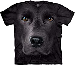 The Mountain Men's Black Lab Face T-Shirt