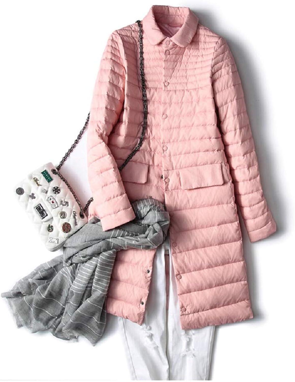 Aehoor Autumn Winter Down Jacket Womens UltraLight 90% Duck Down Windproof Jacket