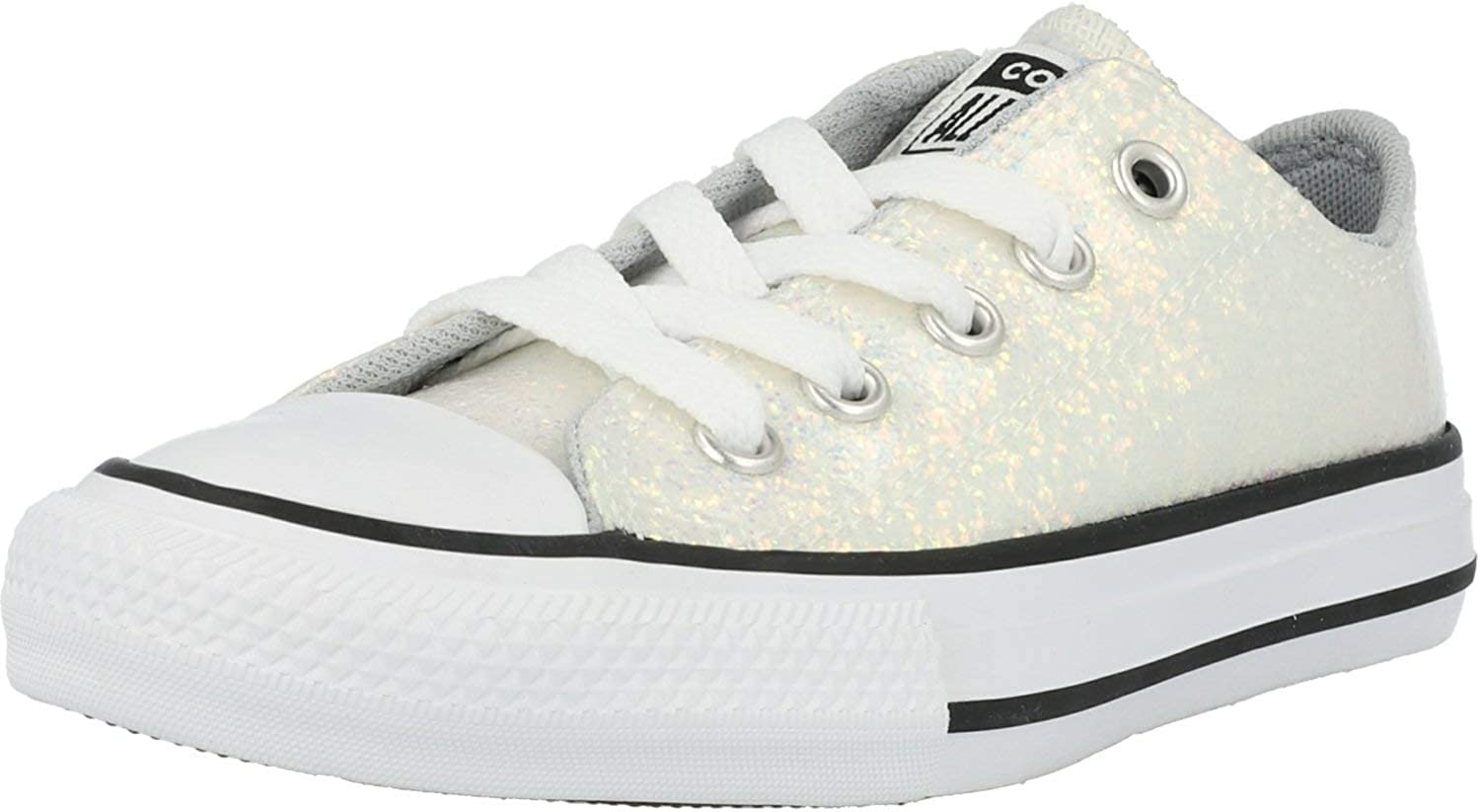 Converse Unisex-Child Chuck Taylor All Star Glitter Low Top Sneaker
