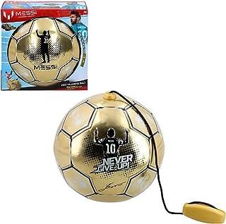 Messi Training System - Träningsboll med rep Golden Edition (ColorBaby 48070)