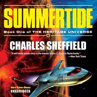 Summertide audiobook cover art
