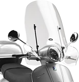Isotta Kit de parabrisas CLS342 con kit de soportes compatibles para Piaggio Liberty RST Moc 2005//2019