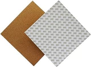 LHQ-HQ 3D-printer accessoires, Verwarmde Bed 220 * 220 * 3mm broedplaats Thermal Pad isolatie katoen met Cork lijm for 3D-...
